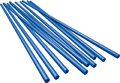 Wax wire rods, blue, round, ø 0.8 mm
