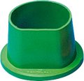 rema® Form casting ring, small ø 71/96 mm, Height 54.5 mm, green