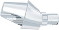 AngleFix abutment L, GH 2.5 mm, 18°, incl. AnoTite screw